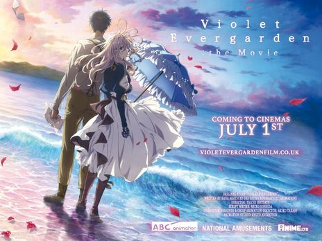 Film picture: Violet Evergarden: The Movie (Japanese version with English Subtitles)