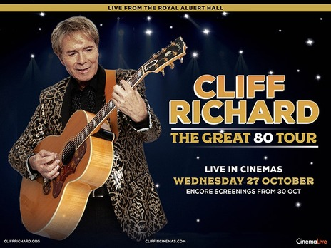 Film picture: Cliff Richard: The Great 80 Tour