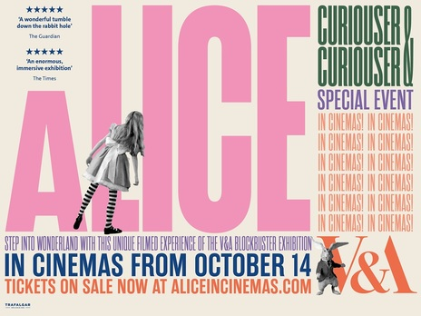 Film picture: The V&A presents Alice: Curiouser and Curiouser