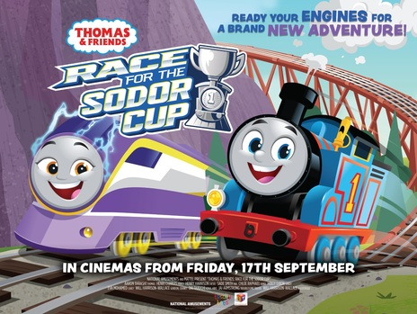 Film picture: Thomas & Friends: Race For The Sodor Cup
