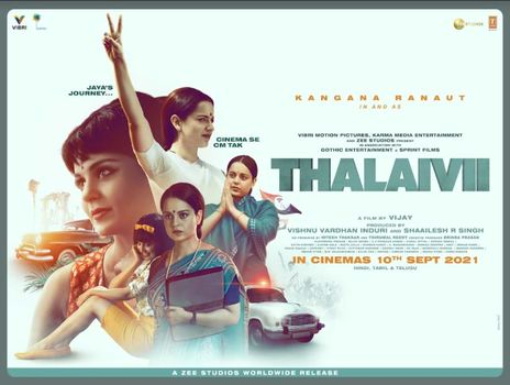 Film picture: Thalaivii