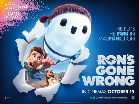 Film picture: Ron's Gone Wrong