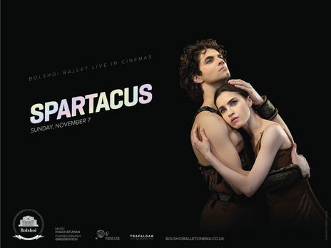 Film picture: Bolshoi Ballet - Spartacus (LIVE)