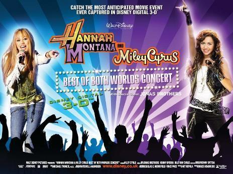Empire Cinemas Film Synopsis Hannah Montana Miley Cyrus Concert 3d