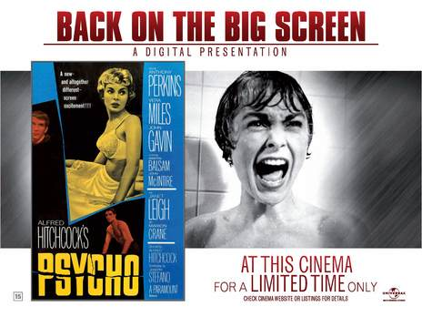 Film picture: Psycho - Gala Screening In Aid Of CARE Int.