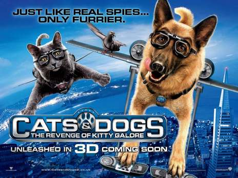 Film picture: 2D Cats And Dogs: : The Revenge Of Kitty Galore