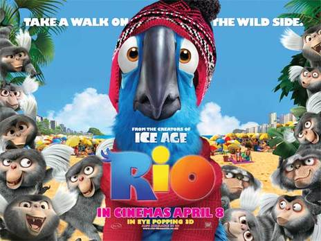 Film picture: 2D Rio (DO NOT USE)