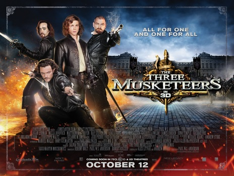 Film picture: 2D The Three Musketeers