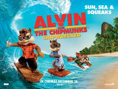 Film picture: Alvin And The Chipmunks: Chipwrecked