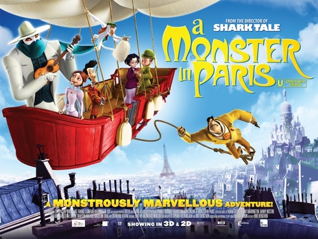 Film picture: 2D A Monster in Paris