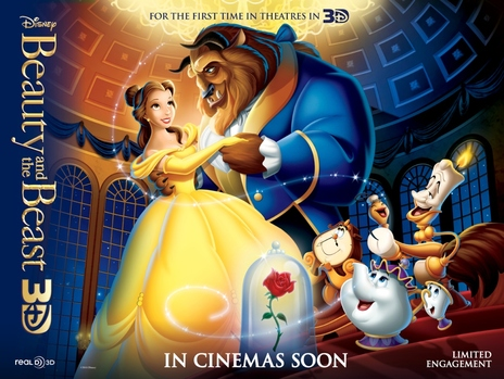 Film picture: 3D Beauty And The Beast (DO NOT USE)