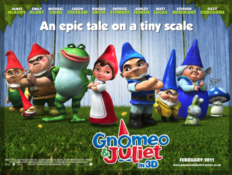 Film picture: 2D Gnomeo & Juliet