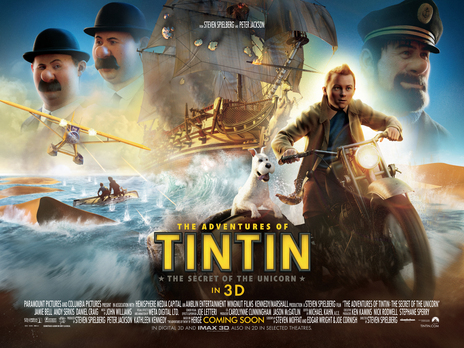 Film picture: 2D Adventures Of Tintin: Secret Of The Unicorn
