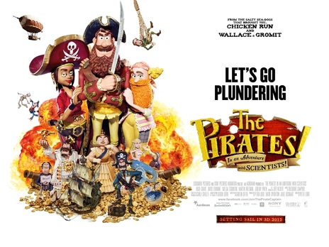 Film picture: 2D The Pirates! In An Adventure With Scientists