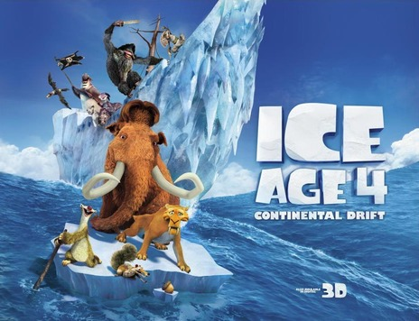 Film picture: 3D Ice Age 4: Continental Drift