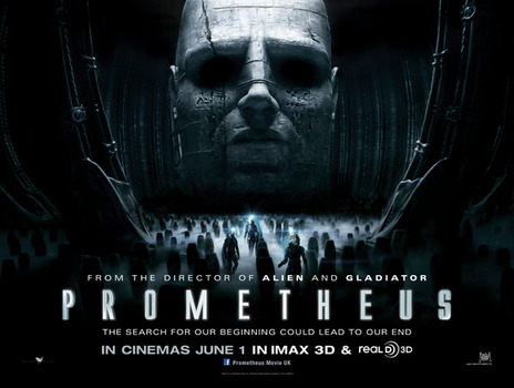 Film picture: 3D Prometheus
