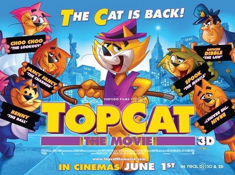 Film picture: 2D Top Cat - The Movie