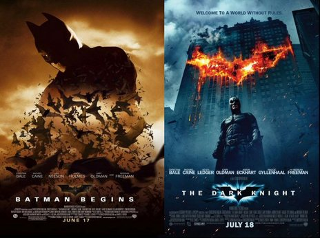 Film picture: Batman Begins / The Dark Knight Double Bill