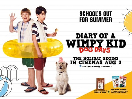Film picture: Diary Of A Wimpy Kid: Dog Days (DO NOT USE)