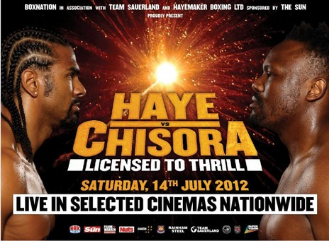 Film picture: Haye Vs Chisora: Licensed To Thrill