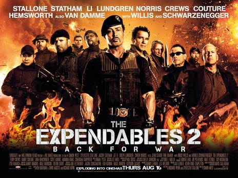Film picture: The Expendables 2