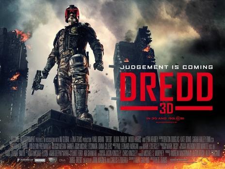 Film picture: 2D Dredd