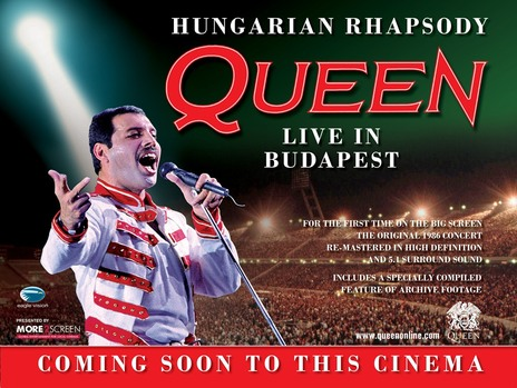 Film picture: Hungarian Rhapsody: Queen Live In Budapest 86