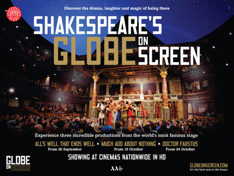 Film picture: Globe On Screen - Much Ado About Nothing