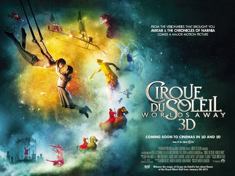 Empire Cinemas Film Synopsis 3d Cirque Du Soleil Worlds