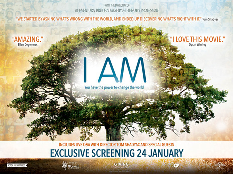 Film picture: I Am (+ Live Q&A)