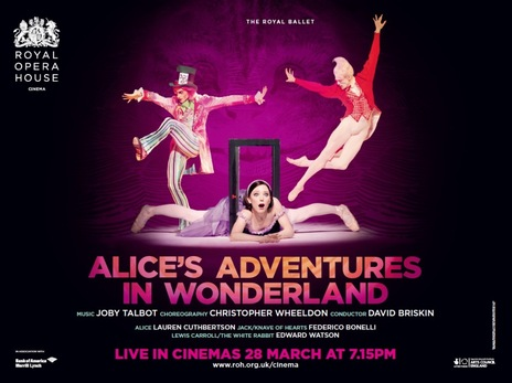 Film picture: ROH - Alice's Adventures In Wonderland (For Schools)