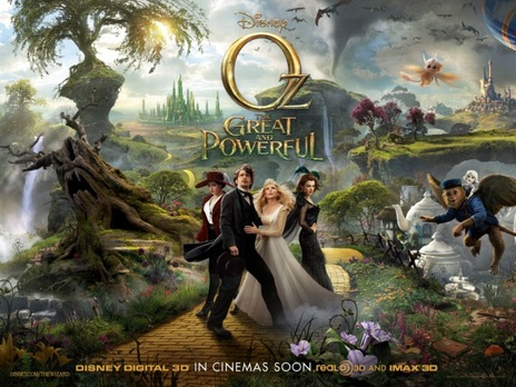 Film picture: 3D Oz: The Great & The Powerful