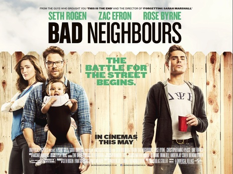 Bad Neighbors Torrent Poster