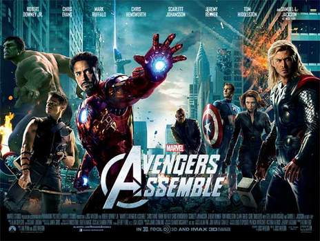 Film picture: (IMAX) 3D Marvel's Avengers Assemble