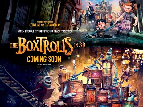 Film picture: 3D The Boxtrolls