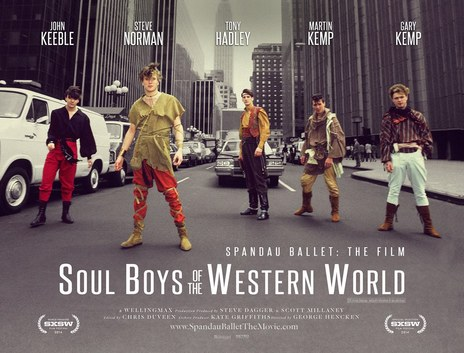Film picture: Soul Boys Of The Western World + Spandau Ballet Satellite Event.