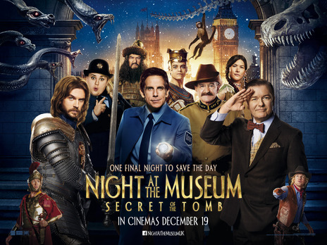 Film picture: (IMAX) Night At The Museum: Secret Of The Tomb