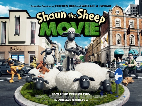 Film picture: Shaun The Sheep Movie