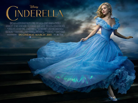 Film picture: Cinderella [Includes short FROZEN FEVER]