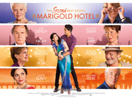 Film picture: The Second Best Exotic Marigold Hotel