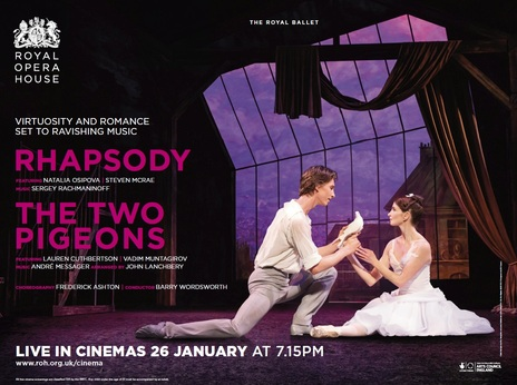 Film picture: ROH - Two Pigeons / Rhapsody (Live)