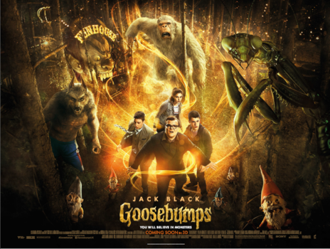 Film picture: 3D Goosebumps
