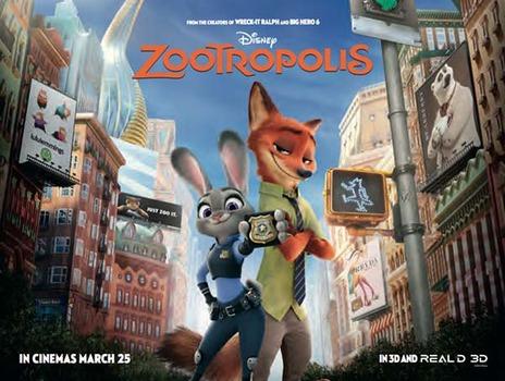 Image result for zootropolis poster