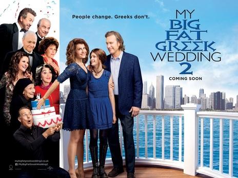 Image result for my big fat greek wedding 2 poster