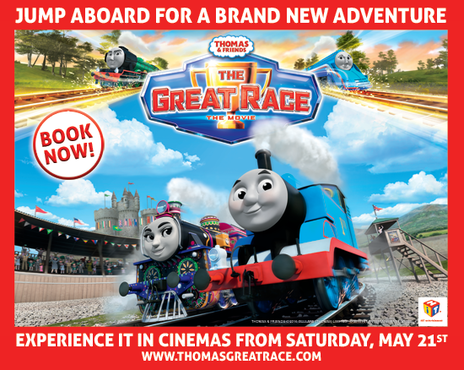 Film picture: Thomas & Friends: The Great Race