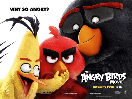 Film picture: 3D The Angry Birds Movie