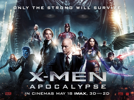 Film picture: 3D X-Men: Apocalypse