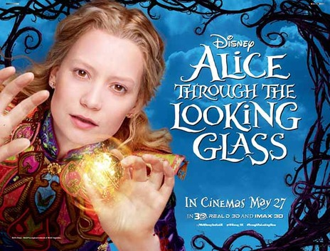 Film picture: 3D Alice Through The Looking Glass