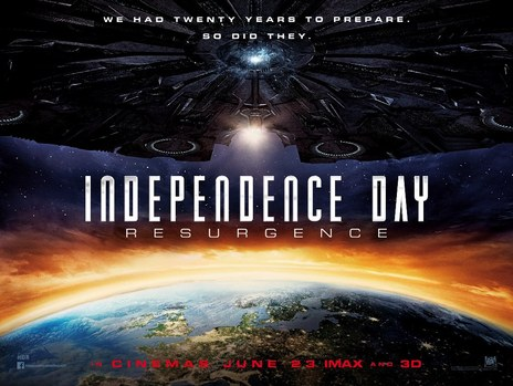 Film picture: 3D Independence Day: Resurgence