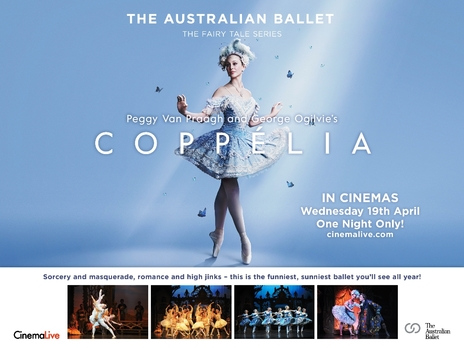 Film picture: The Australian Ballet - Copellia